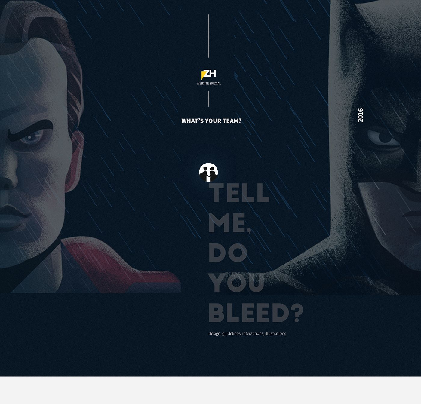 Batman v Superman ZH on Behance