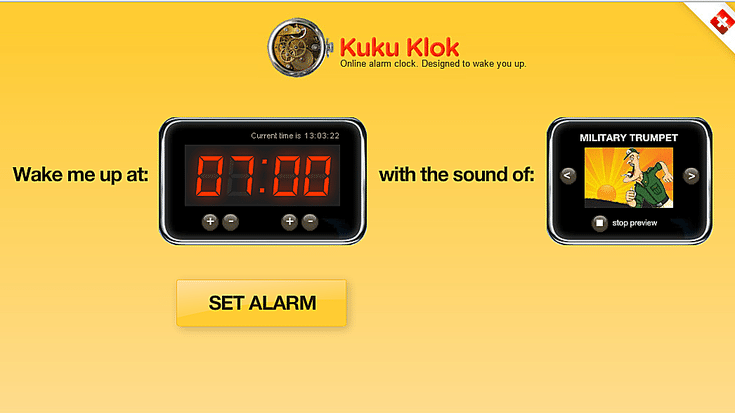 Wake Up To One Of These Free Online Alarm Clocks Online Alarm Clock Clock Alarm