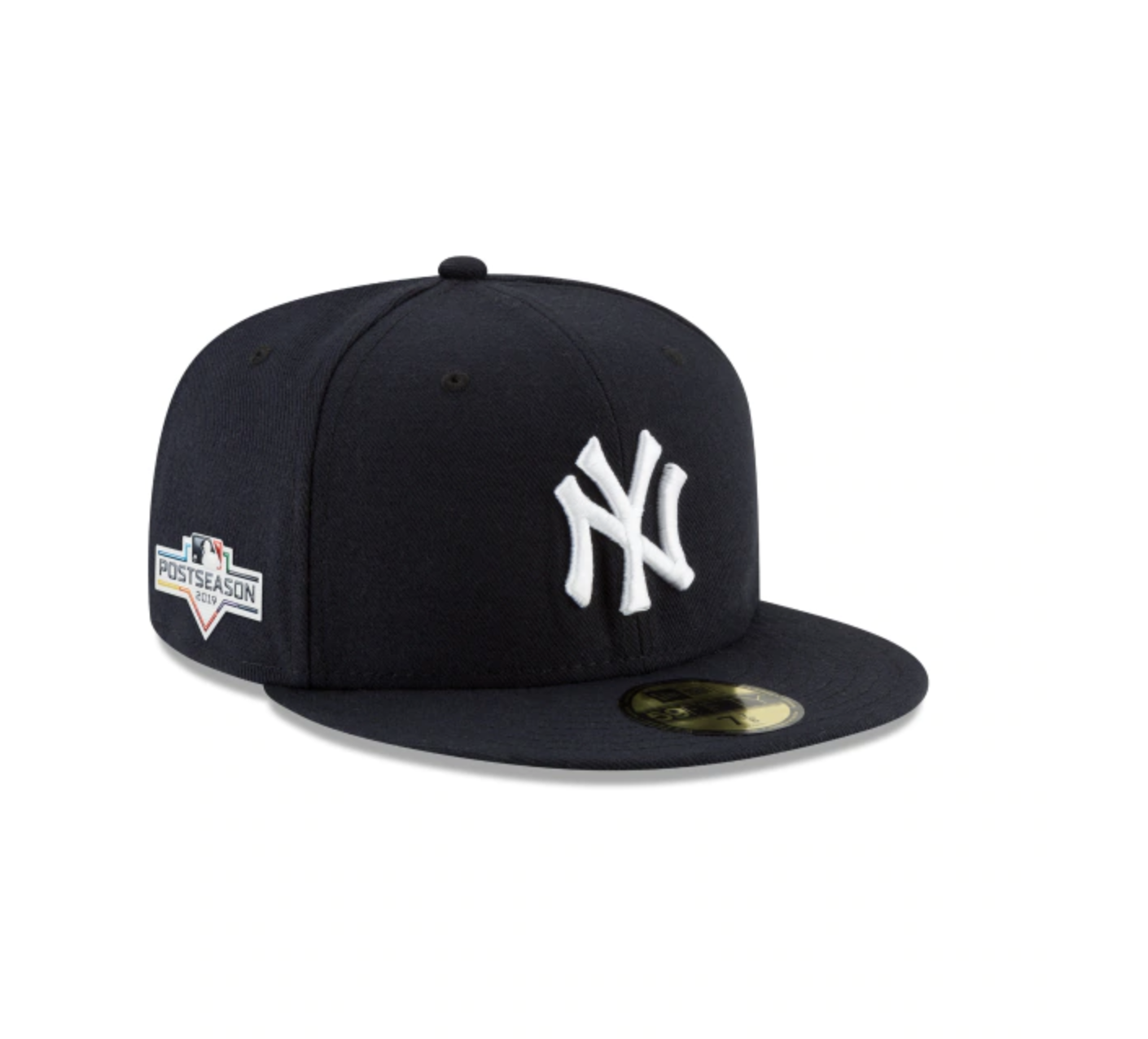 New York Yankees Postseason Side Patch 59fifty Fitted New York Yankees Postseason Yankees