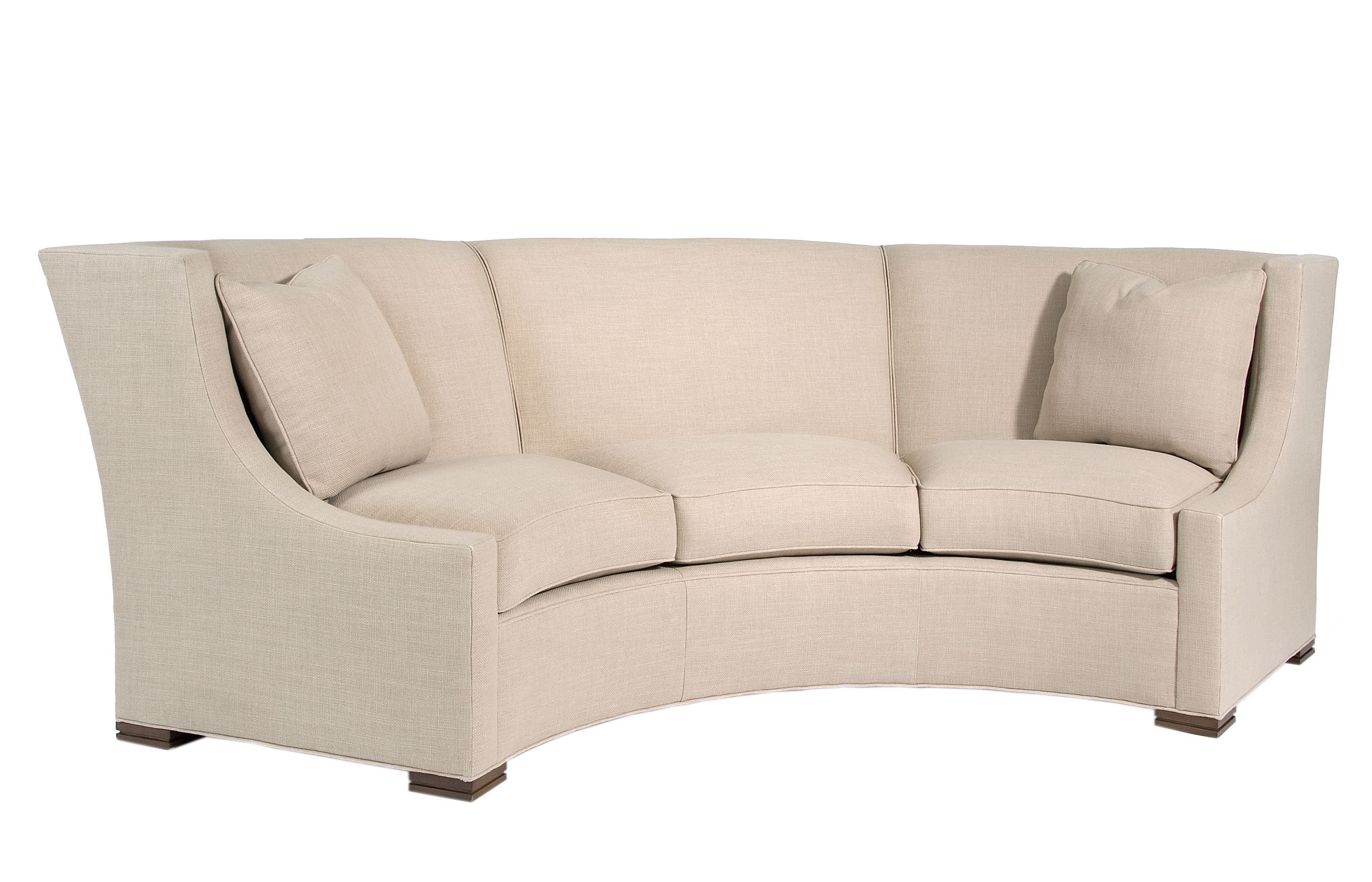 Pearson 2233 3 dramatic curved sofa Great conversational piece Can