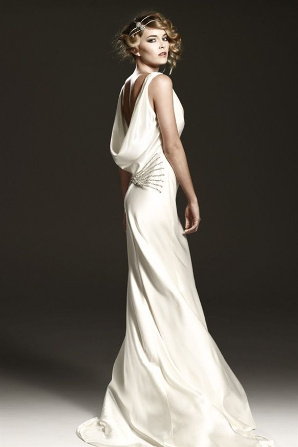 1930\'s Style Wedding Dresses | Bride Ideas #wedding dresses ...
