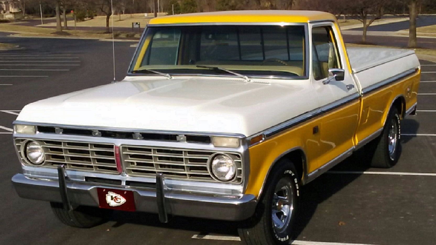 1974 Ford F100 Explorer XLT presented as Lot T41 at Kansas City ...
