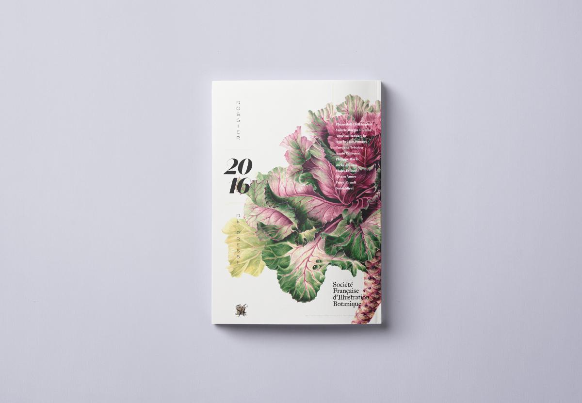 This is a proposal for Société Française d'Illustration Botanique's presse release 2016.