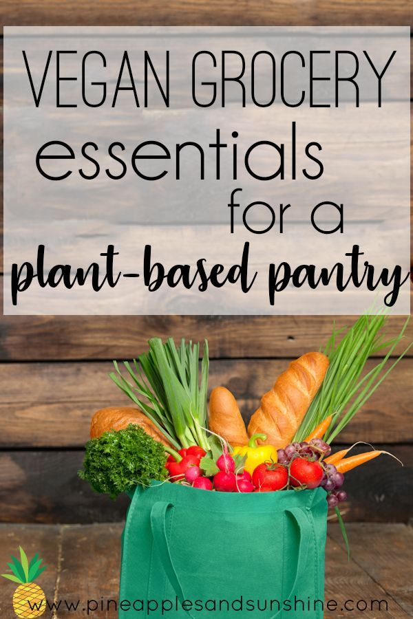This is exactly what I was looking for! This list of vegan grocery essentials will get you started if you're looking to try a plant-based vegan diet. is exactly what I was looking for! This list of vegan grocery essentials will get you started if you're looking to try a plant-based vegan diet.