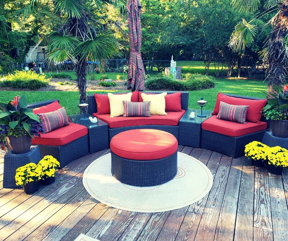 Custom Outdoor Cushions For Odd Shaped Furniture Outdoor Living
