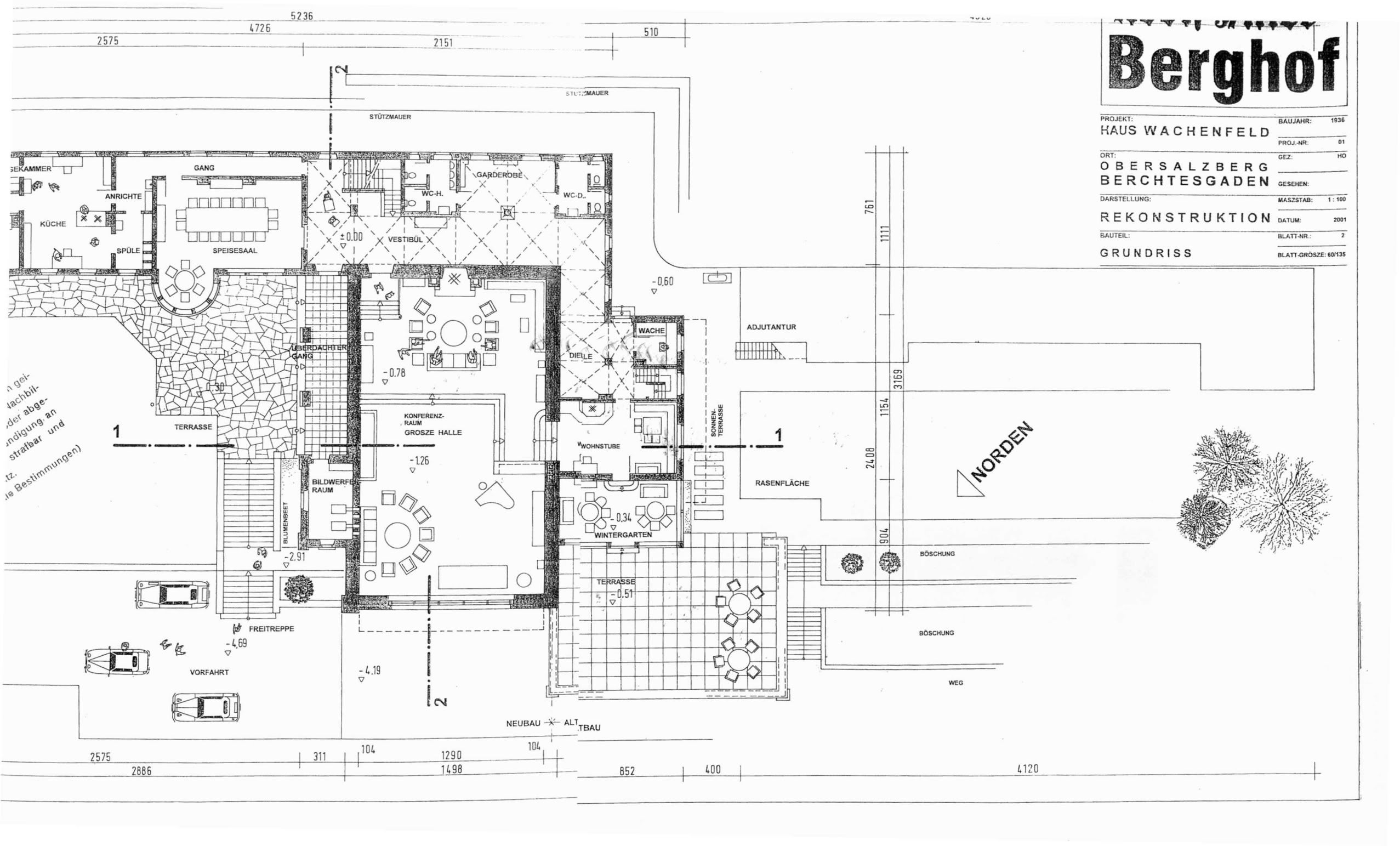 Plan Detaille Du Berghof