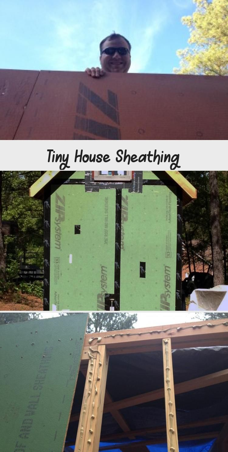 Tiny House Sheathing In 2020 Tiny House Sheathing Tiny House Nation