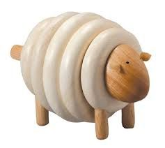 PLan Toys chunky Sheep. Wooden toys. Imaginative Play. Preschooler. Preschool. Toddler. Fun. Learning. Educational.