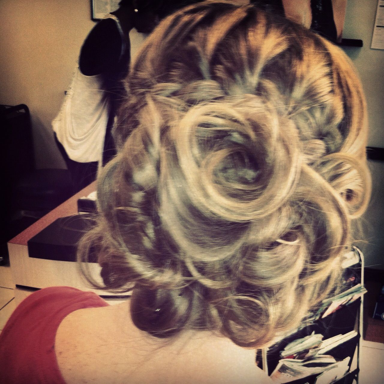 Homecoming hairstyle !