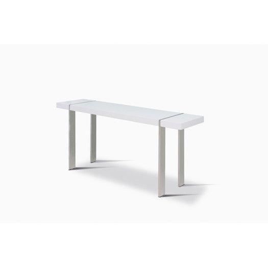 Super Whiteline Imports Struttura Console Table Miami Console Pabps2019 Chair Design Images Pabps2019Com