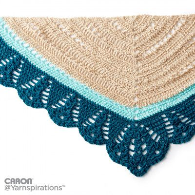 Free Intermediate Crochet Shawl Pattern | scialla ! | Pinterest ...