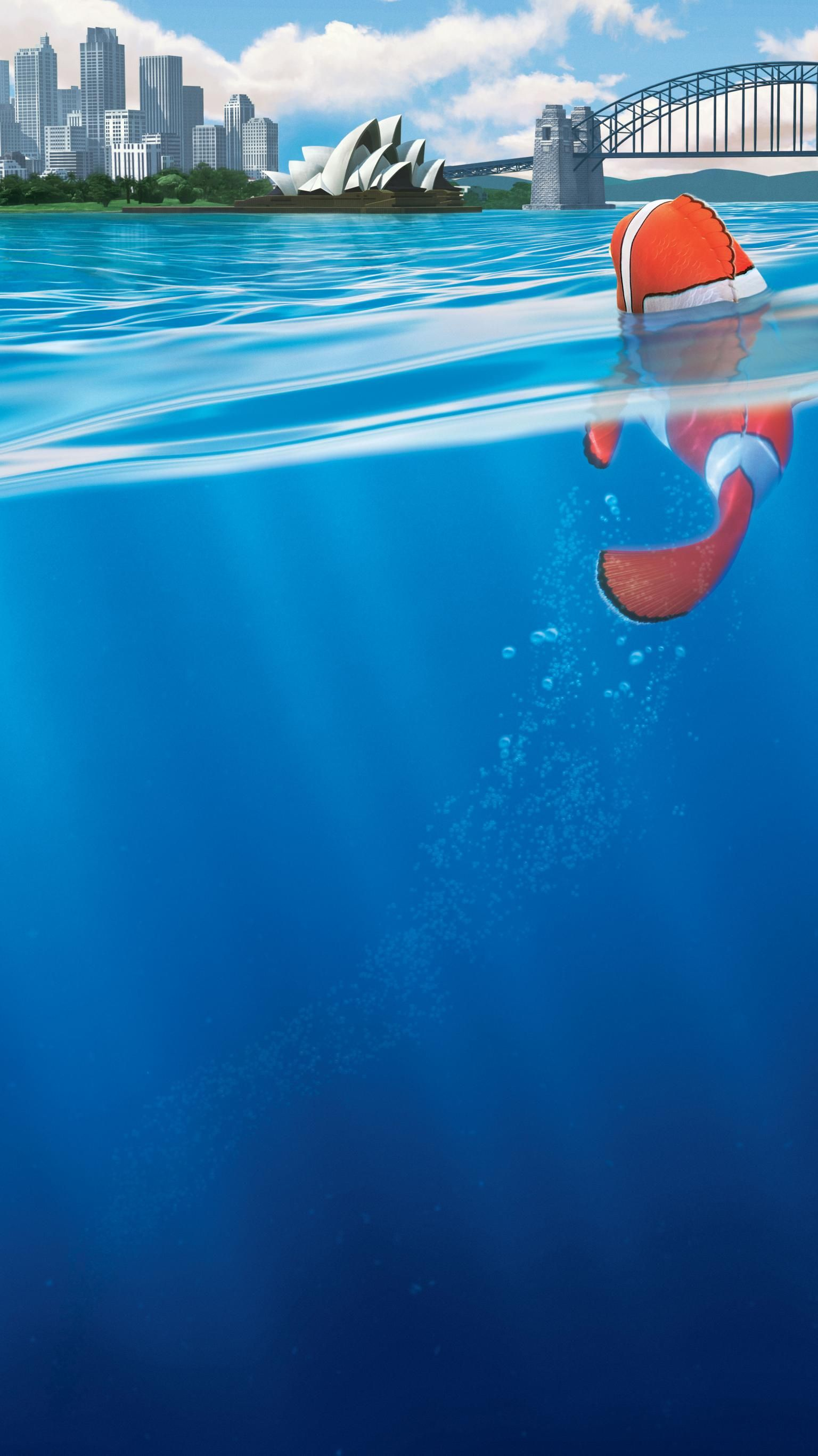 Finding Nemo (2003) Phone Wallpaper   Moviemania
