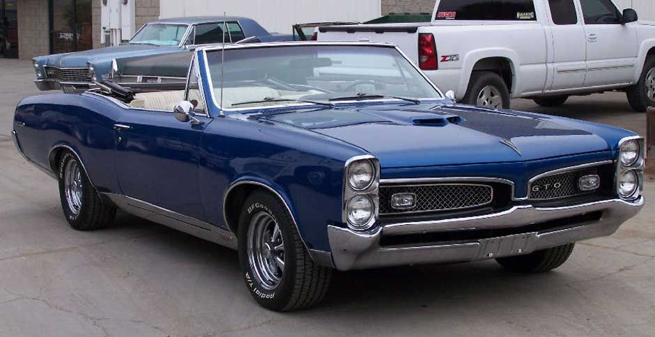 67 Gto Convertible For Sale Feature Car 1967 Ponitac GTO