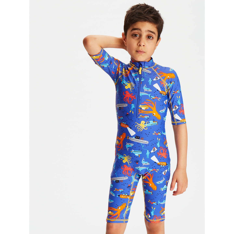 BuyJohn Lewis Boys  Underwater Print SunPro Suit 2904cde8f