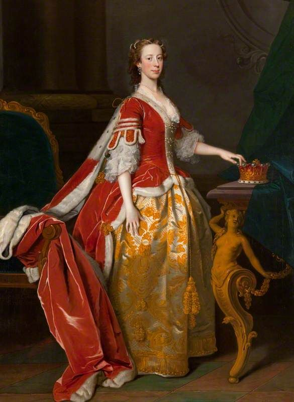 1713 Best Thick Curvy Images On Pinterest: Allan Ramsay, Lady Anne Campbell, Countess Of Strafford