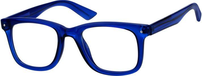ee20f5da9a2 Blue Square Glasses  125216