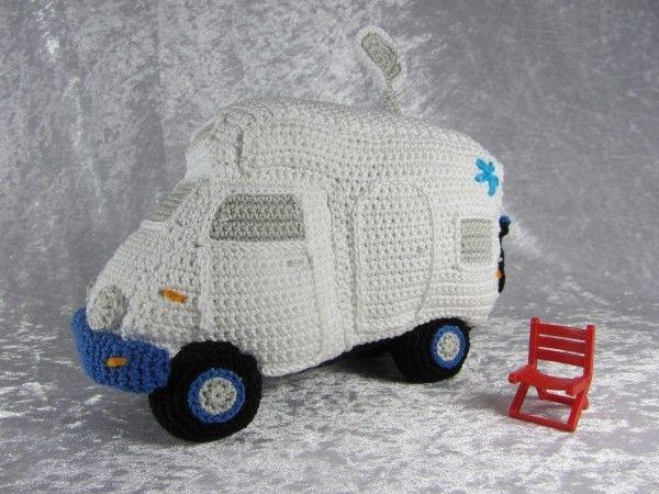 Mein Kleines Wohnmobil Häkelanleitung Vehículo Pinterest