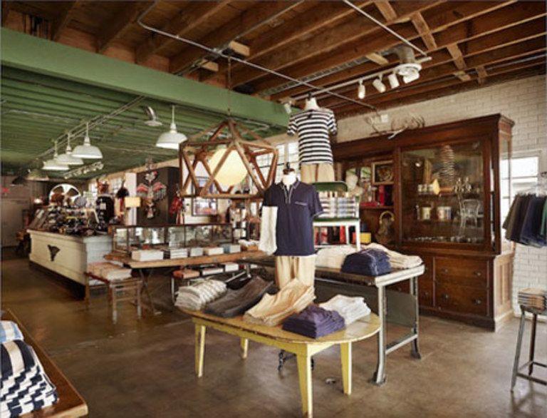 Stag Provisions Austin Men Store Cool Furniture Shop Interior