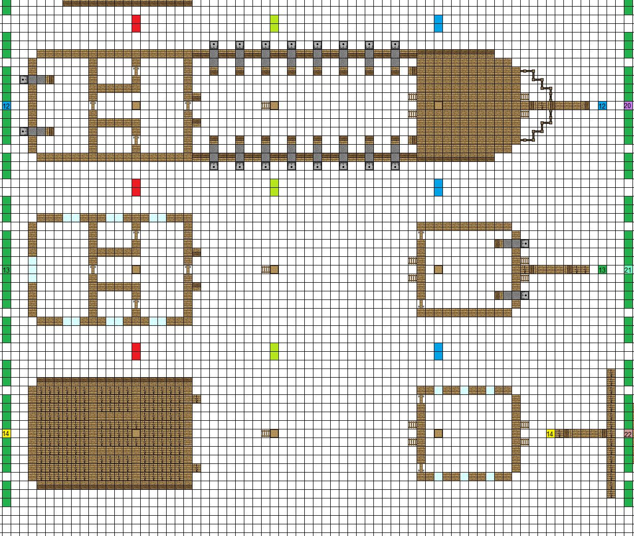 как построить такой же дом большой как в деревне в майнкрафте схема #11