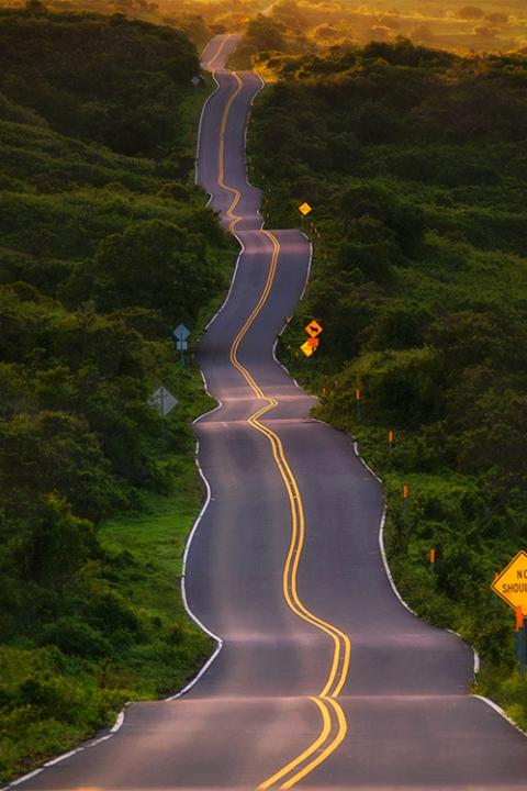 Drunk Highway, Maui, Hawaii