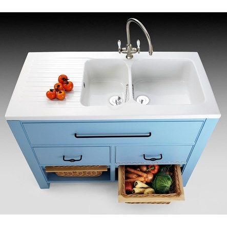 Villeroy Amp Boch Windsor Ceramic Double Bowl Sink With