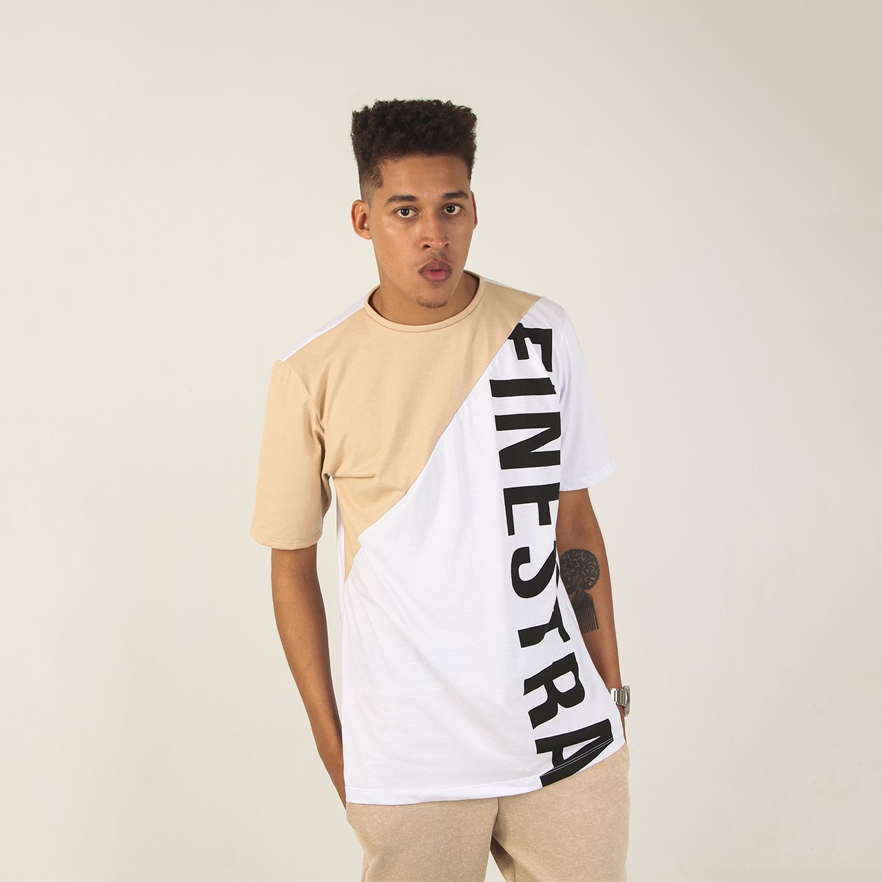 877b63f58 Camiseta Sand - Finestra Camiseta Long - Street wear.
