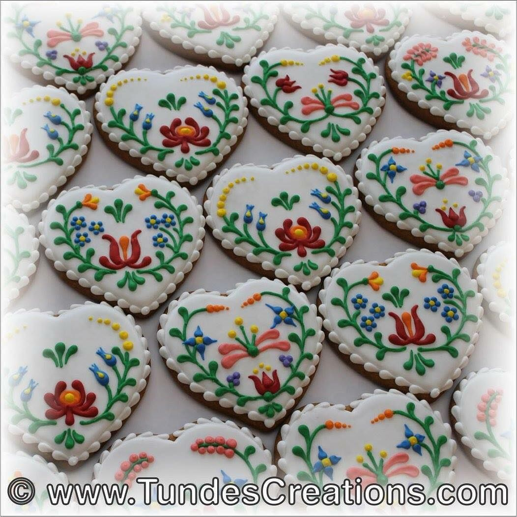 Tunde On Instagram Gingerbread Cookies Decorated With Hungarian