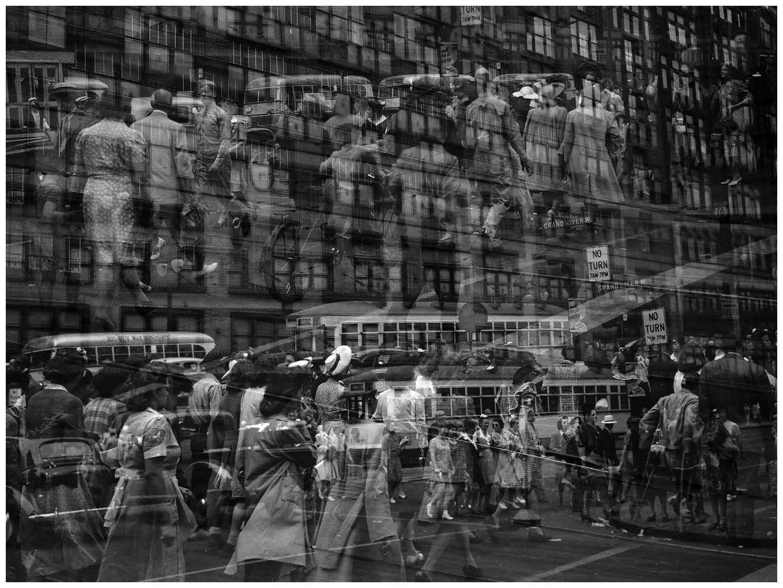 HARRY CALLAHAN double exposure