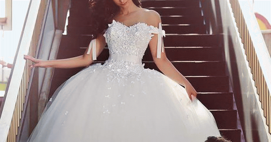 فستان زفاف منفوش لتتمي زي في يومك صور فساتين فساتين زفاف فساتين سواريه فساتين للمحجبات ا Gowns Dresses Elegant Princess Ball Gowns Ball Gown Dresses