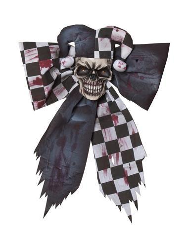 Black and White Light-Up Harlequin Bow from spirit Halloween I like