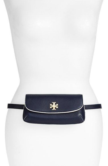 08e7f080560b Tory Burch  Slim Diana  Leather Flap Clutch available at  Nordstrom ...