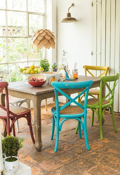 Mix de sillas si o no en 2019 mi hogar sillas de for Decoracion de cocinas comedores modernos