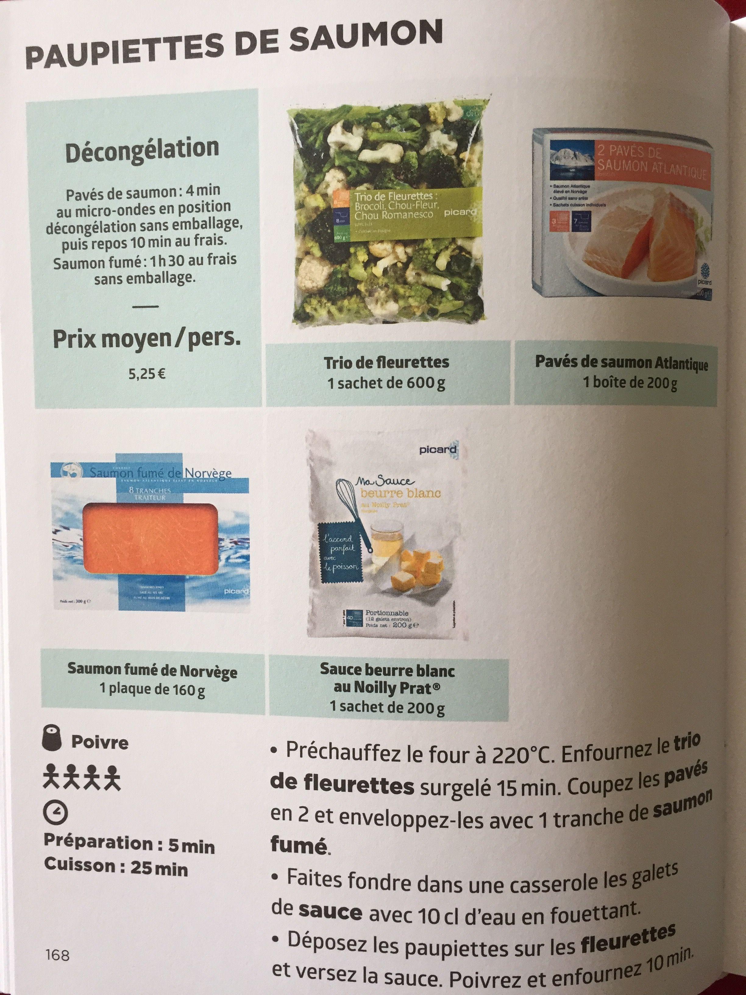 Paupiettes De Saumon Recettes De Cuisine Recette Picard Saumon Atlantique