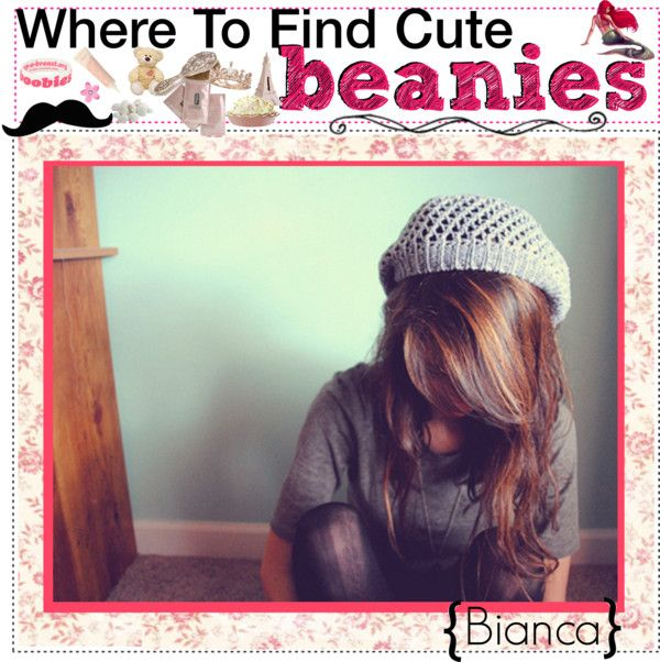 """Where To Find ; BEANiES ♥"" by the-beauty-nerds ❤ liked on Polyvore"