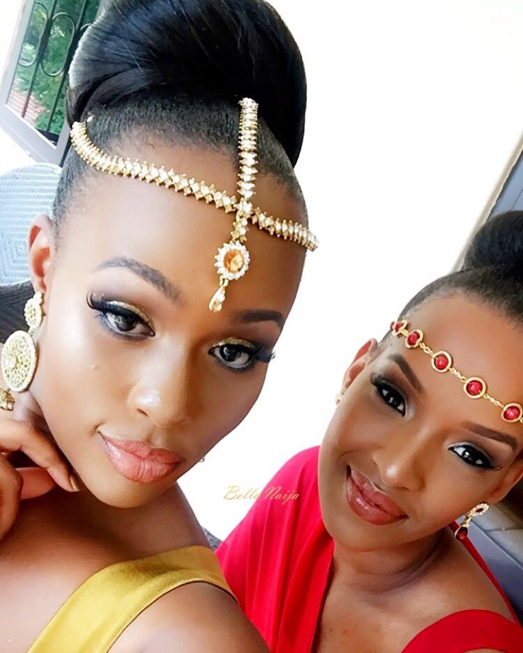 Wedding Hairstyles In Uganda: Weddings Presents Nadia 'Black Kim K' & Yassah's