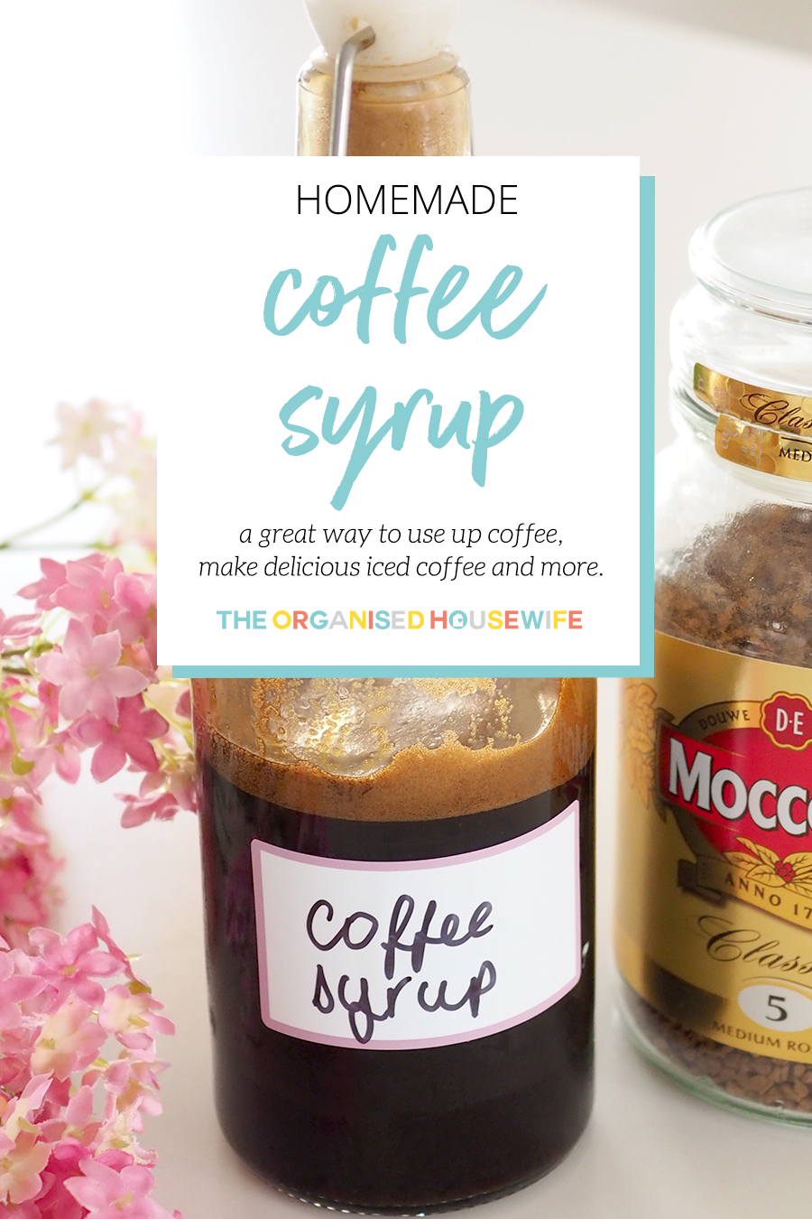 Homemade Coffee Syrup Recipe (With images) Homemade