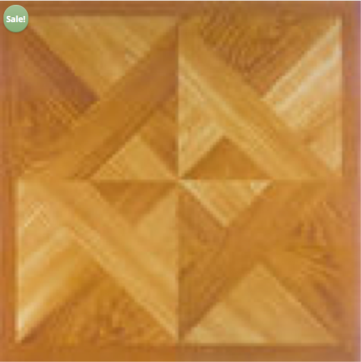 Light Oak Plank Wood Self Stick Adhesive Vinyl Floor Tiles: Peel And Stick Floor Tile, Light Oak Parquet, 20/box