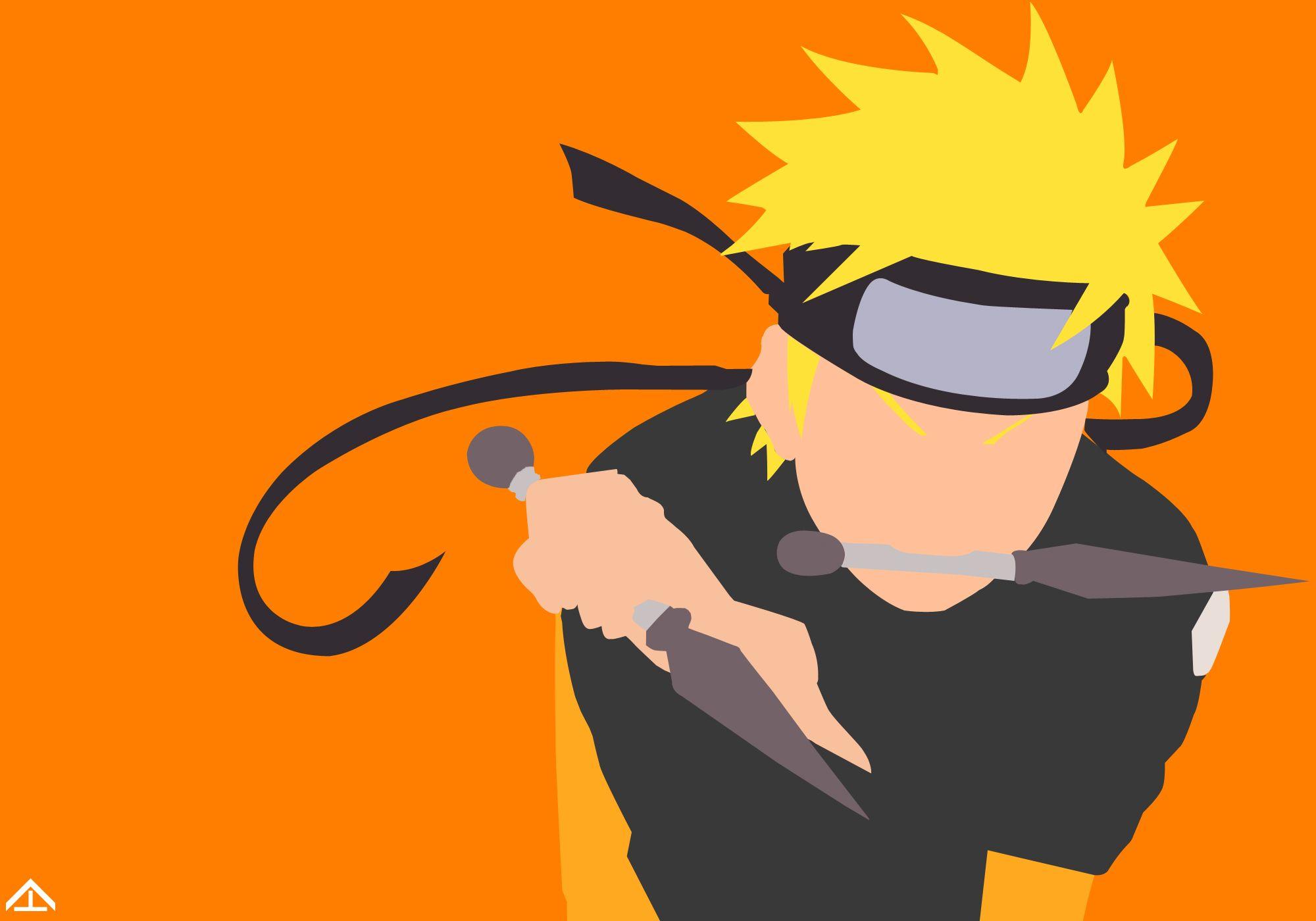 Sasuke Minimalista Fondo: Naruto Minimalist By Hailstone294