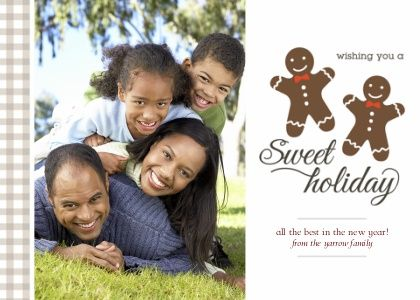 Walgreens Gingerbread Christmas Card Idea With Images