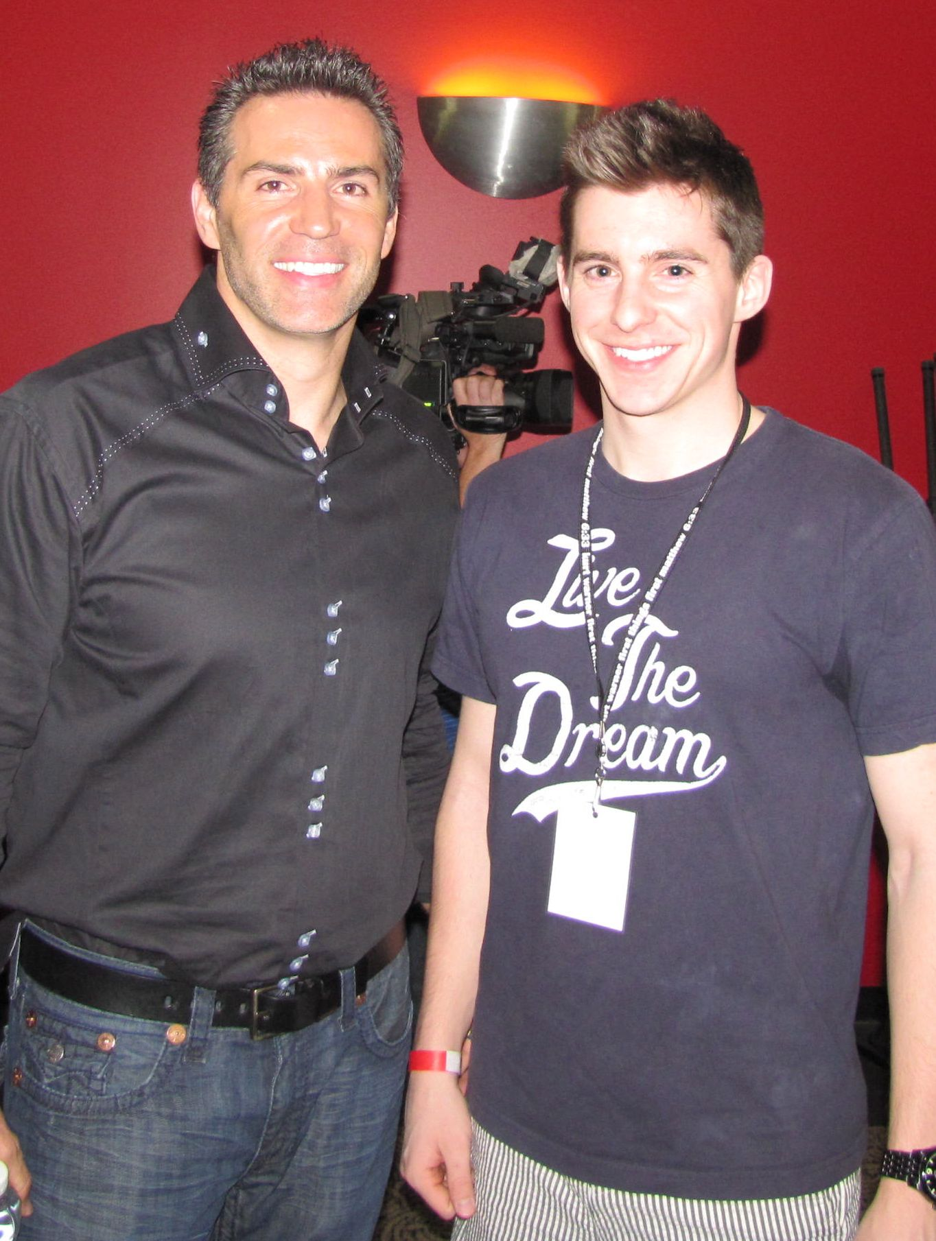 I won a contest, thru Facebook, for a Nutrilite sweepstakes to go play flag-football with Nutrilite spokesman Kurt Warner. Got to meet him and shake his hand.