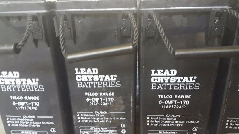 Lead Crystal Batteries Other Gumtree South Africa 151735552 Deep Cycle Battery Batteries Gumtree South Africa