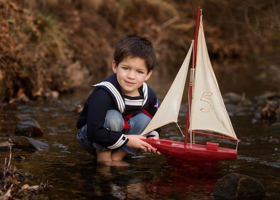 Lillle Boy Toys Boats : Deirdre little boy with toy boat inspiration pinterest