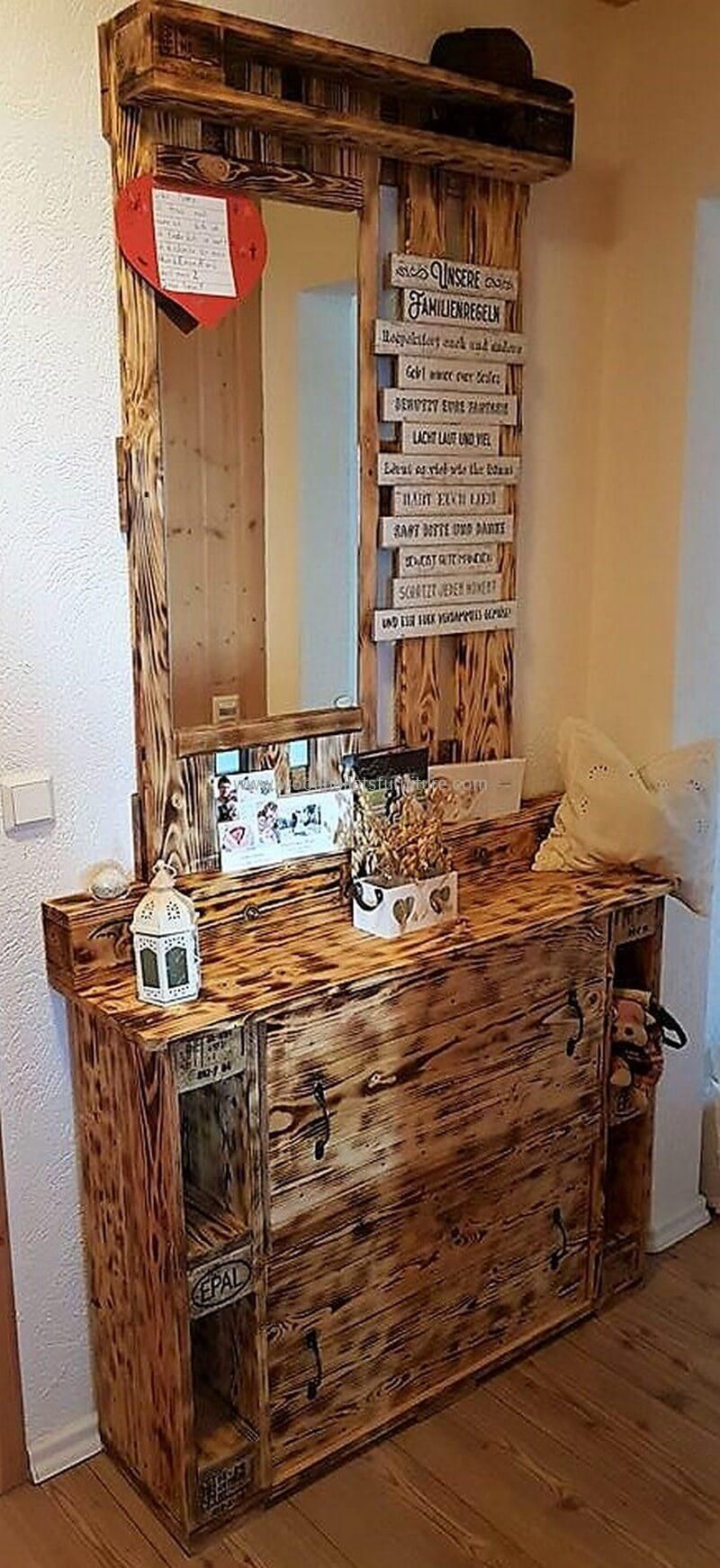 Original Diy Ideas For Wooden Pallets Recycling Wood Pallet Furniture Wood Pallet Projects Wood Pallets Pallet Crafts