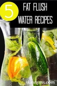 Flush Cleanse Detox Water Recipe Water Recipes Health Drinks