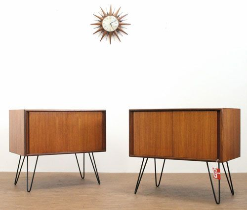 Ebay Watch Pair Of Vintage G Plan Mini Sideboards Or Storage Units Retro To Go