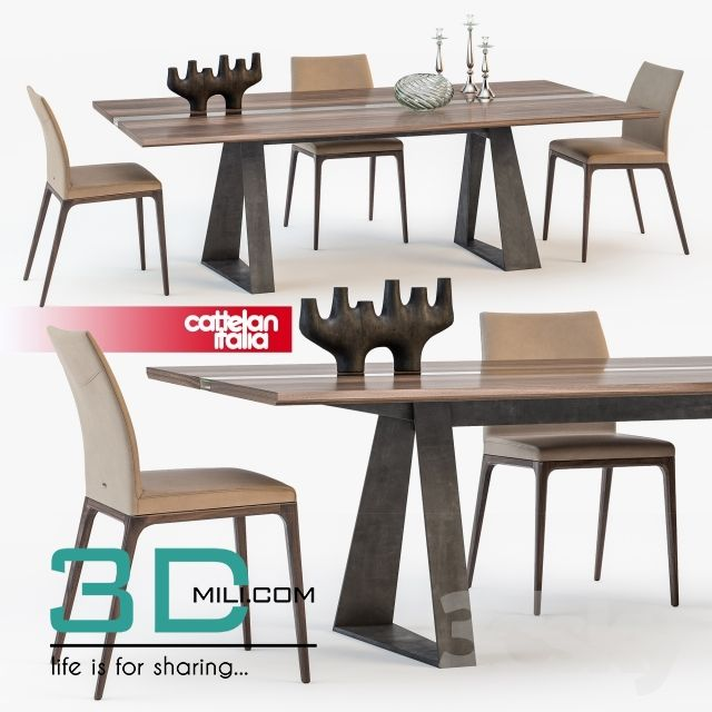 Table + Chair 103 3D Models Free Download Download Here: Http: