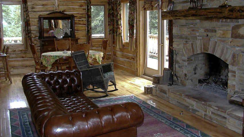 Rustico Arredamento ~ Arredamento casa in legno soggiorno rustico arredamento in