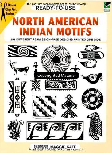 Bestseller Books Online Ready-to-Use North American Indian Motifs: 391 Different Permission-Free Designs Printed One Side (Dover Clip Art Ready-to-Use)  $6.95  - http://www.ebooknetworking.net/books_detail-0486292622.html