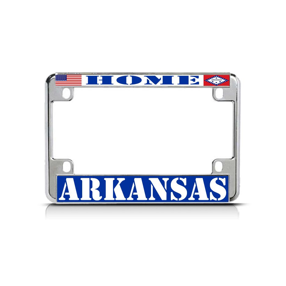 ARKANSAS I/'D RATHER BE IN License Plate Frame