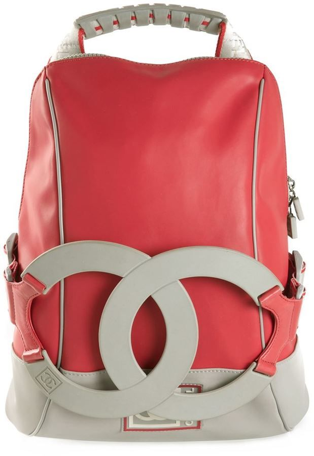 2f1e33b8f Chanel Vintage CC sport backpack | glamping | Chanel backpack ...